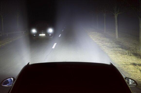 Opel LED matricos žibintai