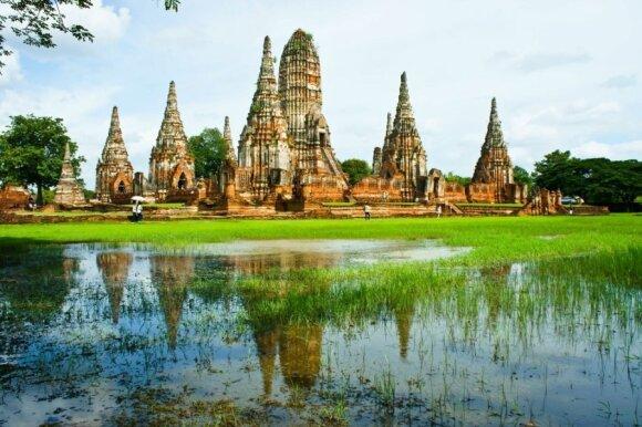 Laisvės ir tradicijų žemė – Tailandas