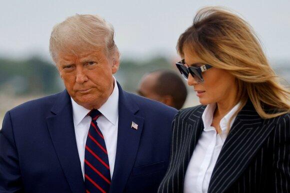 Donaldas ir Melania Trumpai