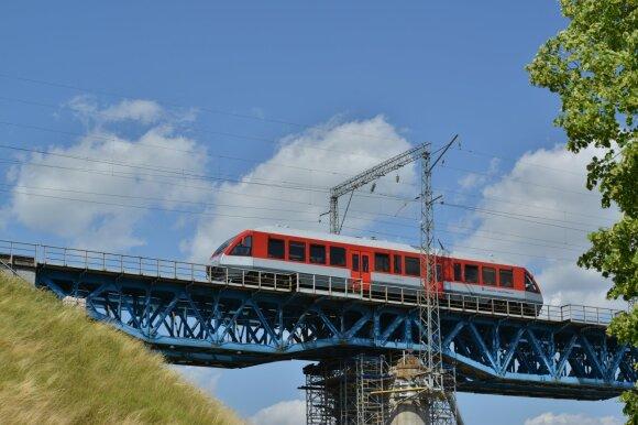 Lietuvos geležinkelių traukinys