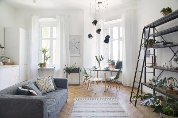 Skandinaviškas interjero dizainas