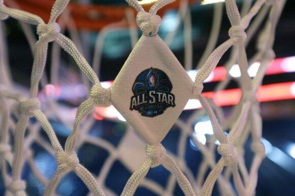 """Penktadienį Naujajame Orleane prasideda NBA """"Visų žvaigždžių savaitgalis"""""""