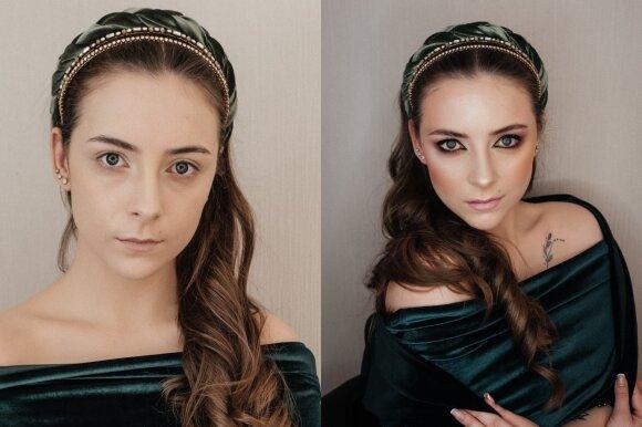 Modelis - Laura Nogaitytė/ Makiažas - Dalia Gečienė/ Ievos Stasytytės nuotr.