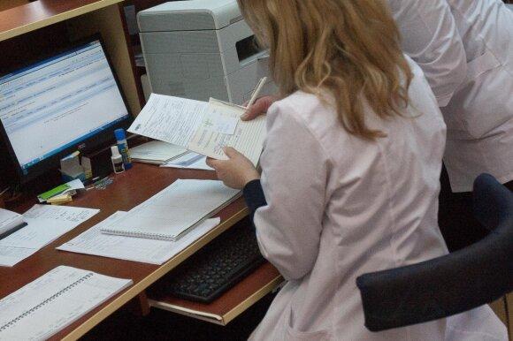 Neapsikentusi piktų poliklinikos darbuotojų rado kitokį būdą patekti pas gydytojus