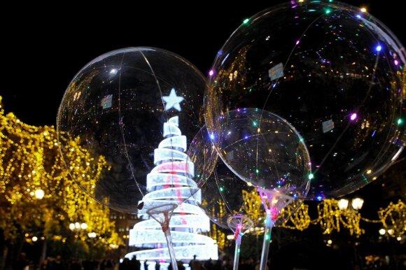 Kalėdų eglė Atėnuose