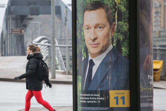 Artūro Zuoko politinė reklama