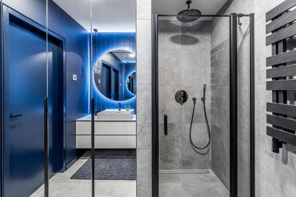 Vonios kambario interjeras