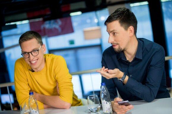 Mantas Bertulis ir Vytautas Mikaitis