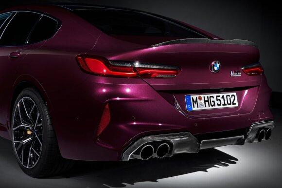 """8-osios serijos atgimimas tęsiasi: pristatytas """"BMW M8 Gran Coupe"""" - 4"""
