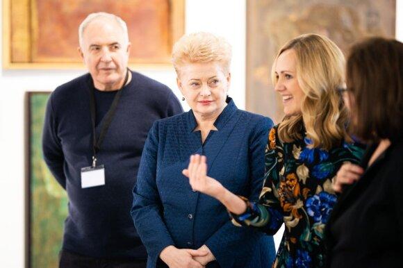 Viktoras Butkus, Dalia Grybauskaitė ir Milda Ivanauskienė