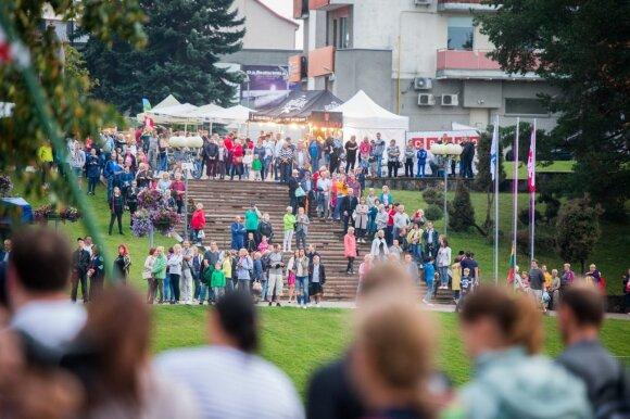 Pasaulio ultratriatlono čempionato atidarymas Panevėžyje