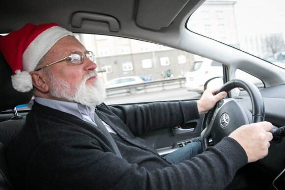 Vilniuje dirbantis taksistas keleivius stebina ne tik išvaizda