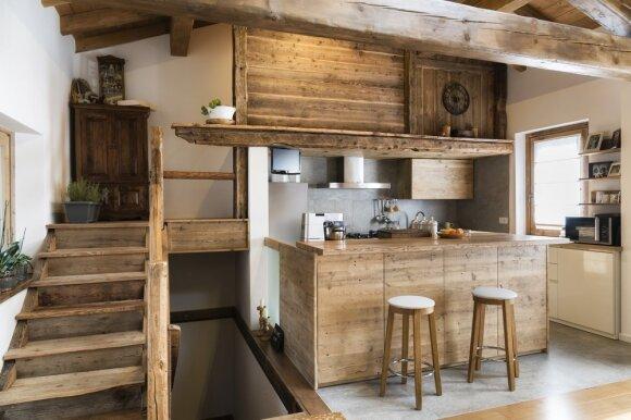 Virtuvė iš medžio