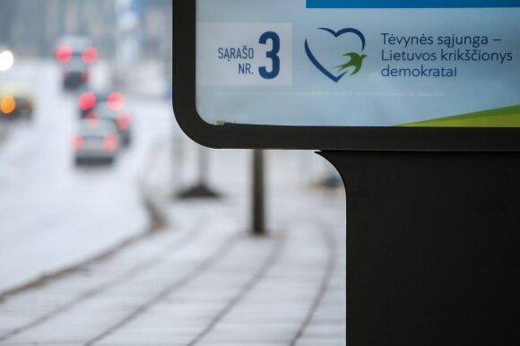 Tėvynės sąjungos - Lietuvos krikščionių demokratų politinė reklama