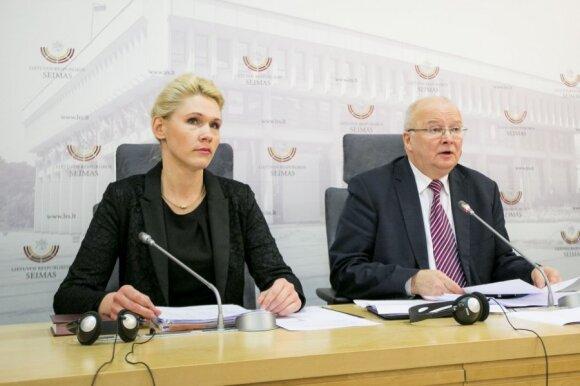 Laura Matjošaitytė ir Zenonas Vaigauskas
