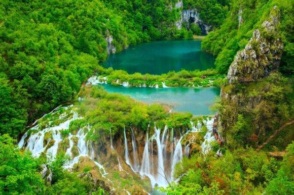 Plitvice nacionalinis parkas, Kroatija