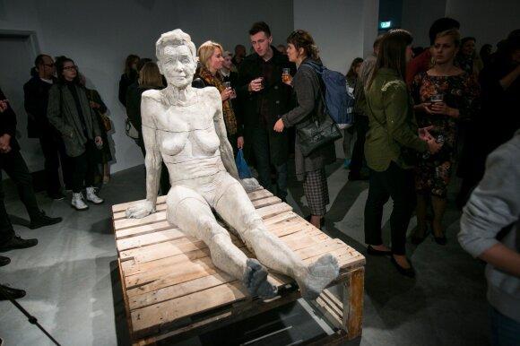 Mykolo Saukos skulptūrų paroda