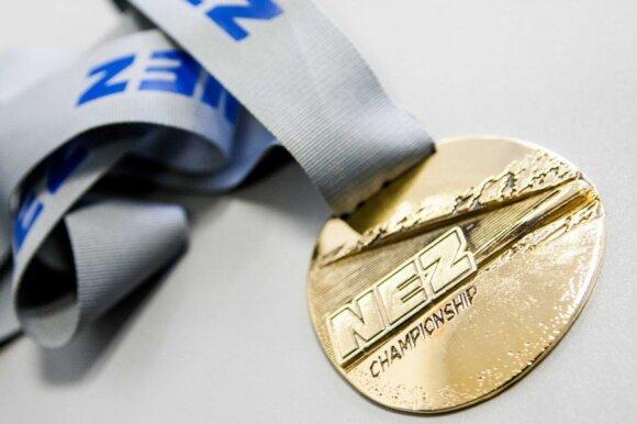 Šiaurės Europos ralio čempionato aukso medalis