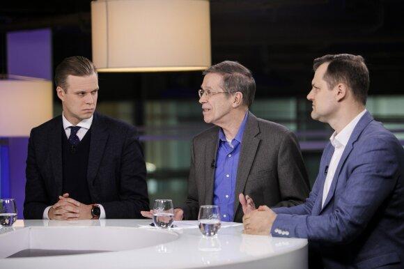 Gabrielius Landsbergis, Kęstutis Girnius, Gintautas Paluckas