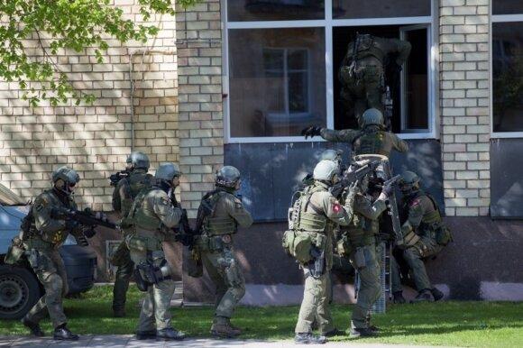 Specialiųjų operacijų pajėgos pratybose