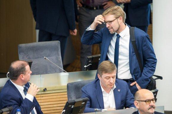 Saulius Skvernelis, Linas Kukuraitis, Ramūnas Karbauskis