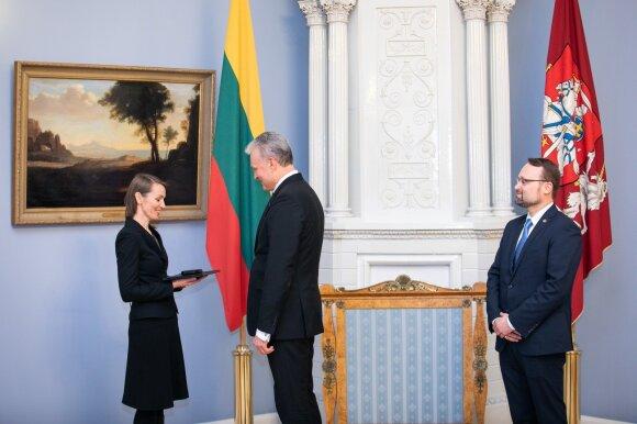 Viktorija Kuodytė, Gitanas Nausėda, Mindaugas Kvietkauskas