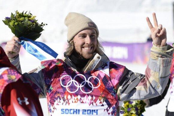 Sage'as Kotsenburgas tapo pirmuoju Sočio žaidynių čempionu