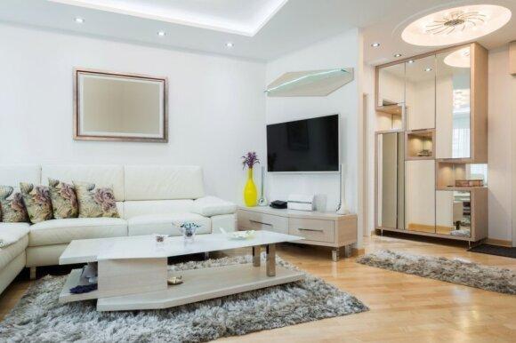 Ką daryti, jei kambarys atrodo nejaukus ar per blankus