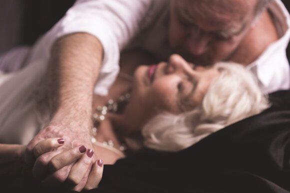 Vyresnių žmonių seksas.