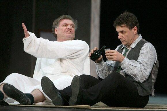 """Rimo Tumino spektaklio """"Dėdė Vania"""" generalinė repeticija"""
