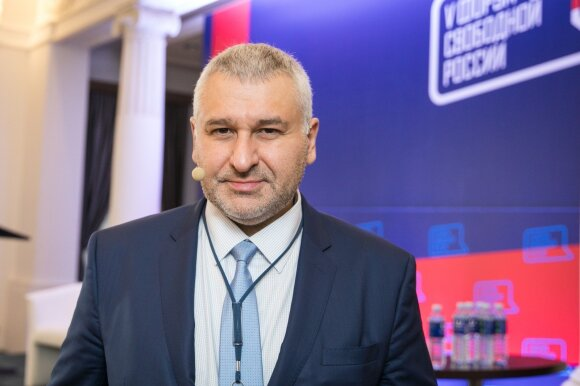 Адвокат Фейгин: Литва претендует на лидерство в борьбе с имперской Москвой