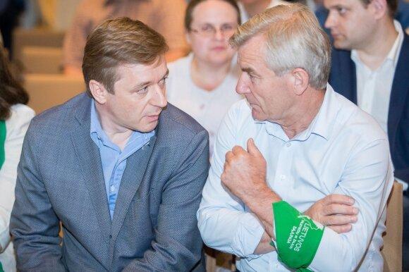 Ramūnas Karbauskis, Viktoras Pranckietis