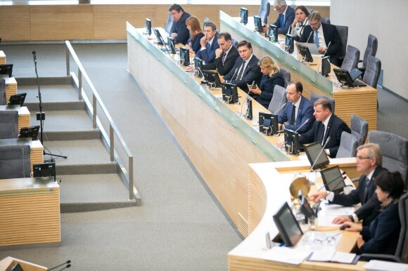 Government's Hour in the Seimas