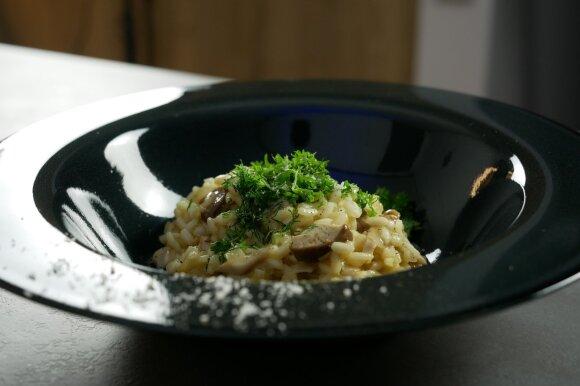 Itališkas baravykų risotto