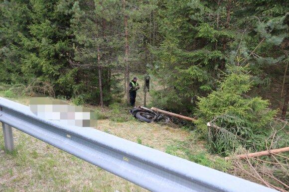 Трагедия в Швенченском районе: мотоциклист помахал рукой отцу, а вскоре после этого разбился