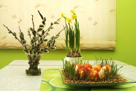 Velykinis namų ir stalo dekoras: originalios idėjos