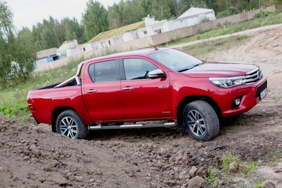 "Naujasis ""Toyota Hilux"""