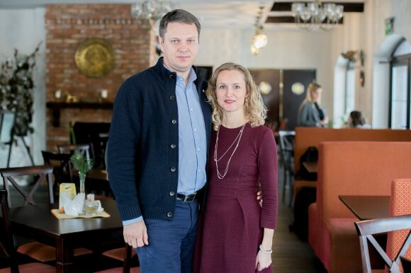Mindaugas Aldonis ir Giedrė Aldonė