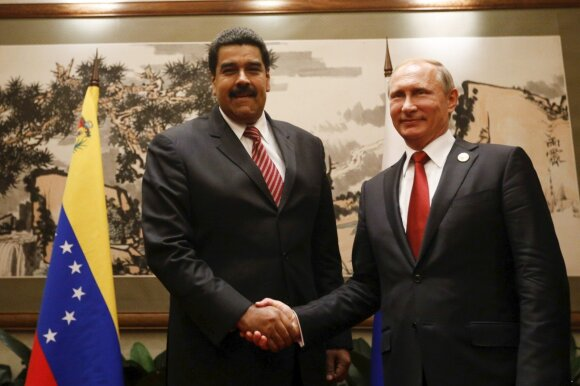 Nicolas Maduro, Vladimiras Putinas