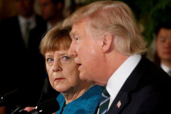 Po net trijų Merkel drebulio priepuolių – reakcijos Vokietijoje