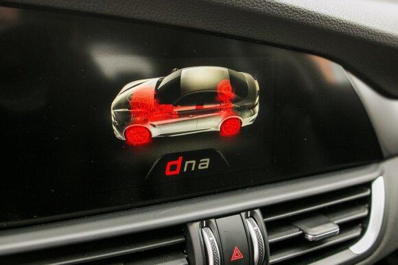 Vairuotojas gali rinktis tris važiavimo režimus
