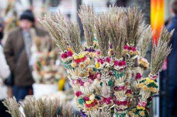 Palm Sunday in Vilnius