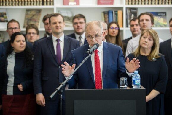 Gintautas Paluckas, Vytenis Povilas Andriukaitis, Vilija Blinkevičiūtė