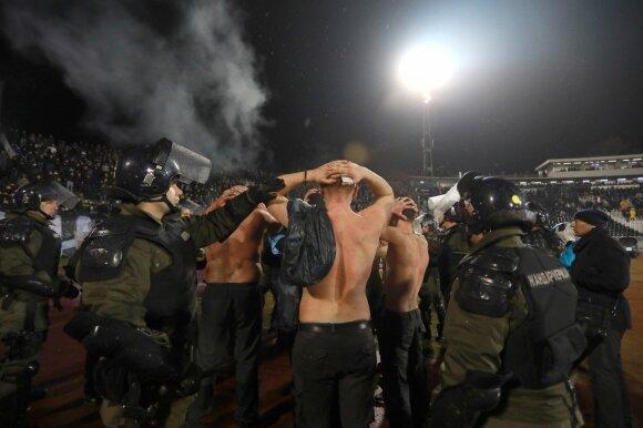 """Belgrado """"Partizan"""" sirgaliai"""