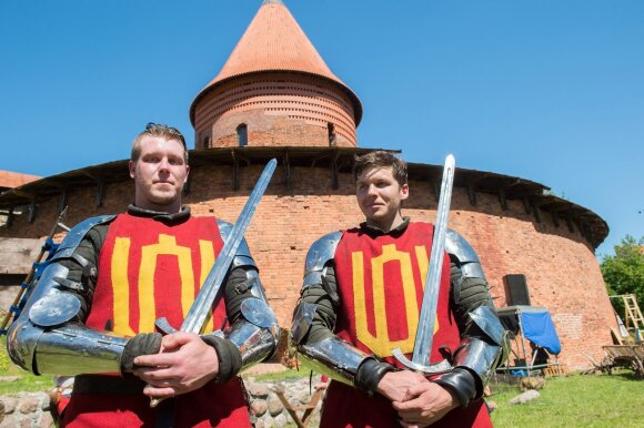 Viduramžių riterių turnyras A. Pliadžio nuotr.