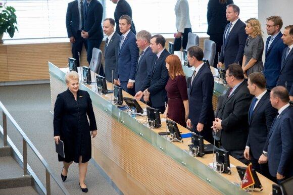 Dalia Grybauskaitė: apgailestauju tik dėl vieno