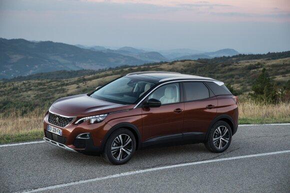 """""""Peugeot 3008"""" kupinas elektroninių pagalbininkų"""