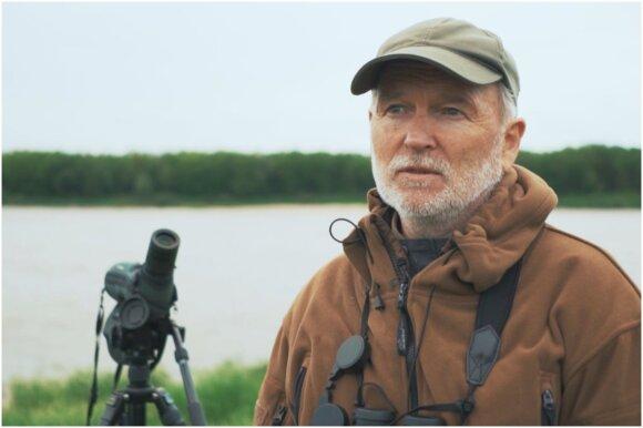 Ornitologas Eugenijus Drobelis