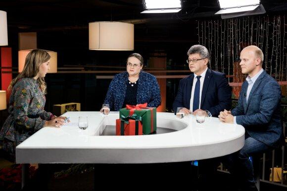 Viktorija Chockevičiūtė, Agnė Širinskienė, Remigijus Lapinskas, Matas Buzelis