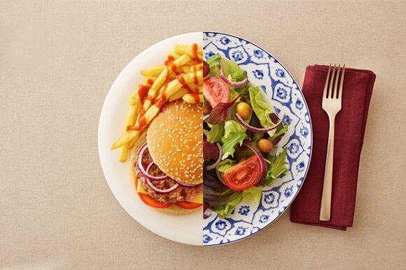 Dietistė pasakė, kas gali trukdyti sulieknėti: dėl antsvorio nebūtinai kaltas maistas